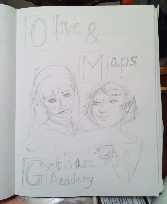 Olive and Maps pencils